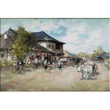 2439.N.Grigorescu - the village
