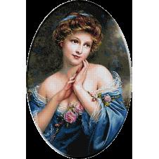 2451.Martin Kavel-Lady-kék