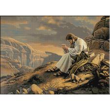 Impreuna cu Dumnezeu-goblen