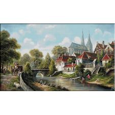 2523.Dutch landscape