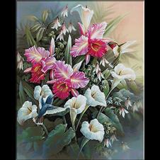 flori de primavara-goblen