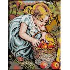 283. Fetita cu mere