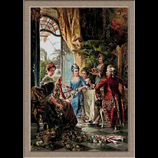goblen reproducere pictura clasica