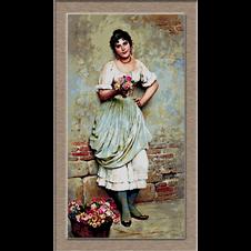 vanzatoarea de flori