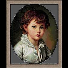 2707.Greuze-Stroganov gróf portréja