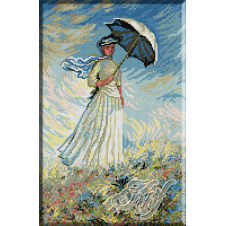 410.Monet - D-na cu umbrela