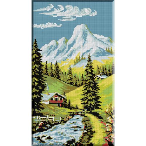 355. Peisaj de munte