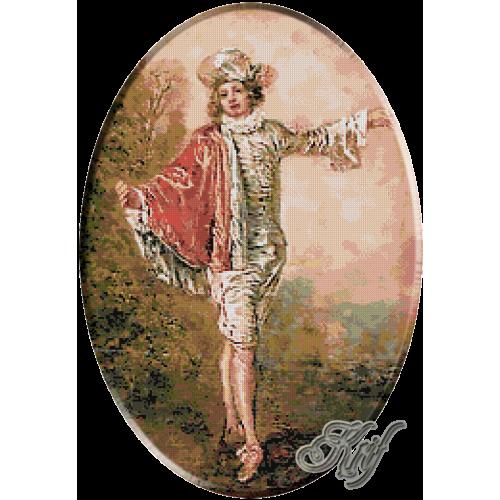 194.Watteau- Indiferentul