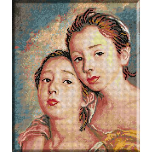 636. Gainsborough - Ficele pictorului
