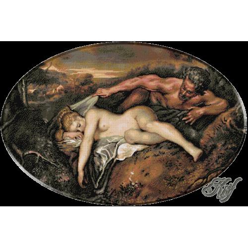 204. Watteau. Jupiter si Antiope
