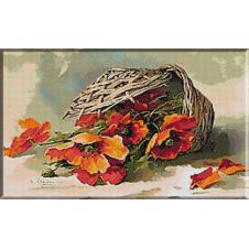 1730. Klein - Cos cu maci