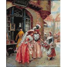 1795.Henry Victor Lesur - Vanzatoarea de flori