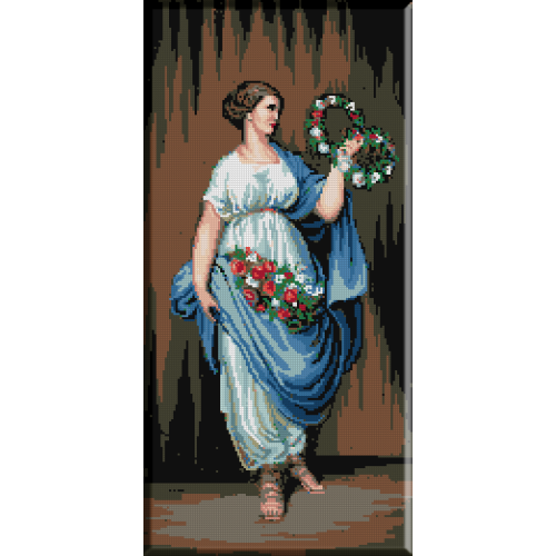 252. Alegorie cu flori