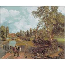 556.Constable - Moara de la Flatford
