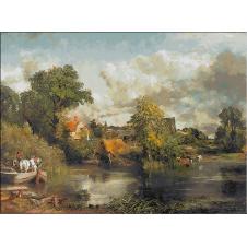557.Constable - Calul alb