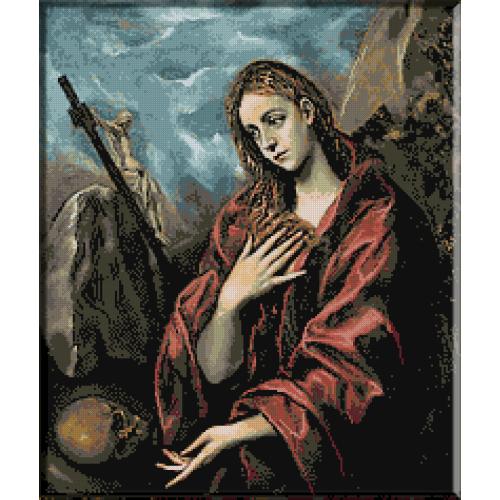 564.El Greco - Maria Magdalena