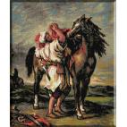 313. Marocan inseuandu-si calul