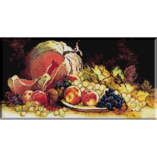 577. Natura moarta cu fructe