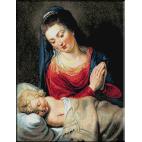 623.Rubens - Adoratia Fecioarei