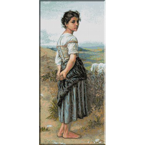631.Bouguereau - Tanara pastorita