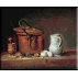 687.Chardin. Natura statica cu vas de cupru