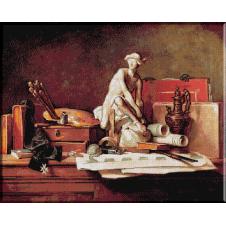 691.Chardin. Atributele artei