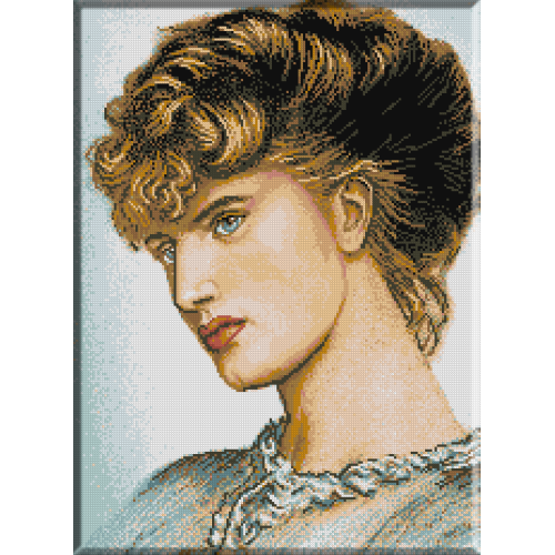 710. Portretul unei doamne