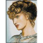 710.Rossetti. Portretul unei doamne