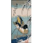 740.Hiroshige. Rata salbatica