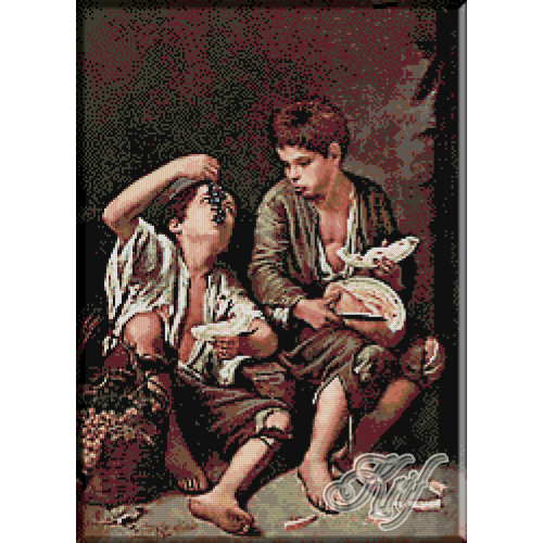 164.Murillo- Mancatorii de pepene