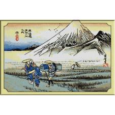 745.Hiroshige - Hara