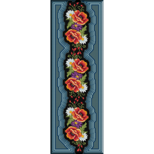 753. Dcor cu flori de camp 2
