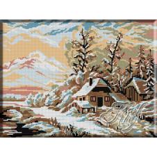 027.Peisaj de iarna