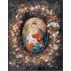 1018.Rubens - Portretul Madonei cu flori
