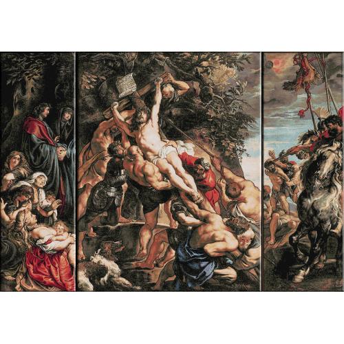 1021.Rubens - Ridicarea crucii