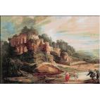 1024.Rubens - Peisaj cu ruine la muntele Palatin