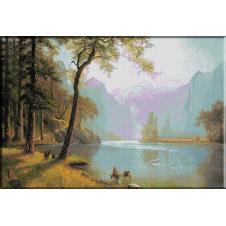 1070.Bierstadt - Valea raului Kern, California