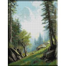 1072. Bierstadt - Langa Bernese, Alpi