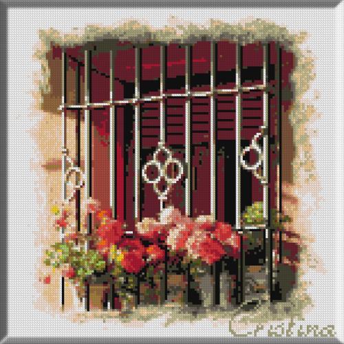 1085 - Cristina . Flori printre gratii
