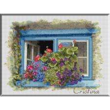 1086 - Cristina . Lumina si flori