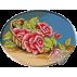 041. Cos cu trandafiri rosii