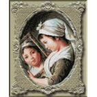 1121. Le Brun - Julie Le Brun cu oglinda