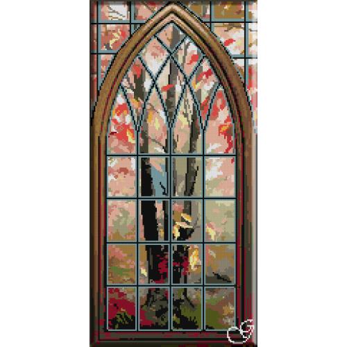 1128. Cristina - Toamna din fereastra mea