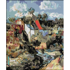 1145. Van Gogh - Case la Auvers