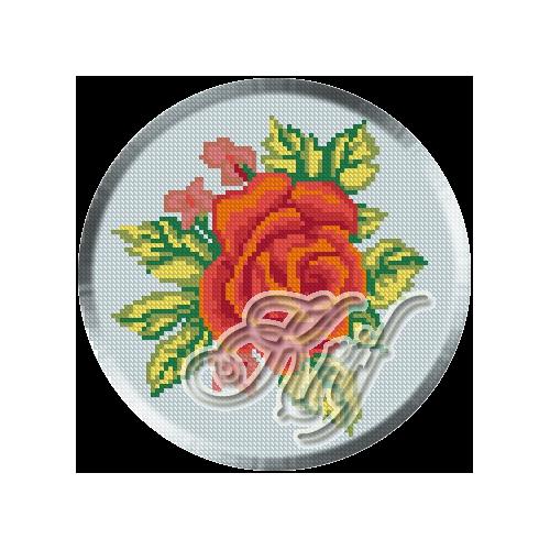 047. Cristina.Trandafir rosu