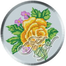048. Cristina.Trandafir galben