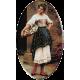 1200 .Eugene de Blaas - Vanzatoarea venetiana de flori