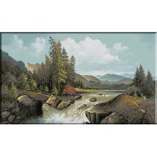 1208. Kaszuba - Cadere de apa in munti