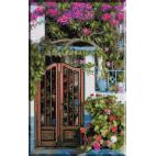1217.Cristina - Usa casei din vecini
