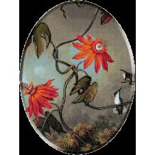 1244 - Heade.Floarea pasiunii si privighetori